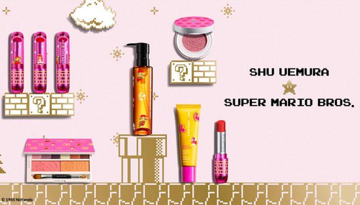 NoA: 'Go on a beauty adventure with shu uemura x Super Mario Bros.'