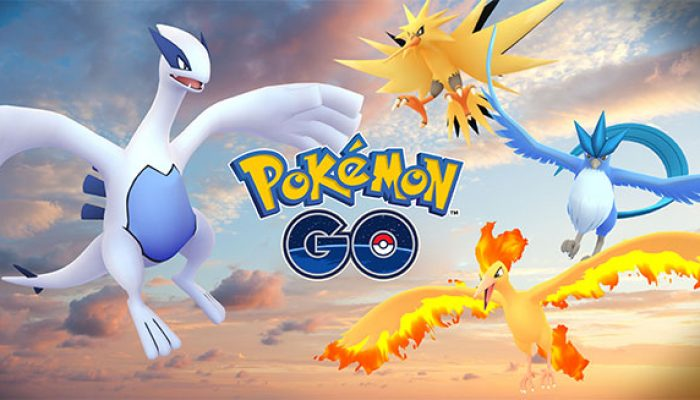 Pokémon: 'Catch Lugia, Articuno, Moltres, and Zapdos in Pokémon Go'