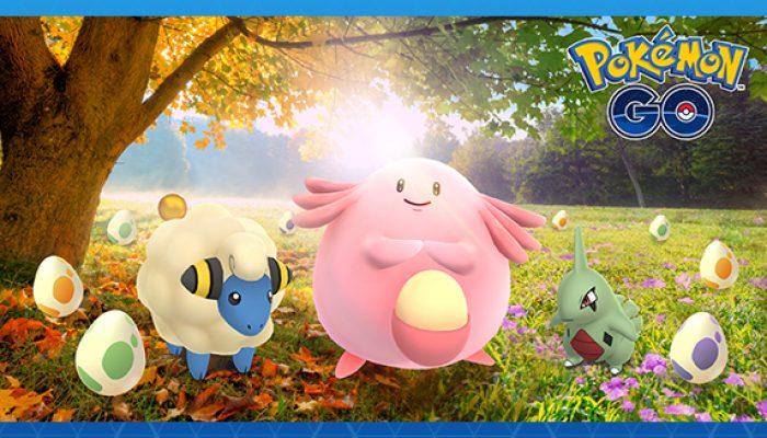 Pokémon: 'Pokémon Go Gets More Egg-citing!'