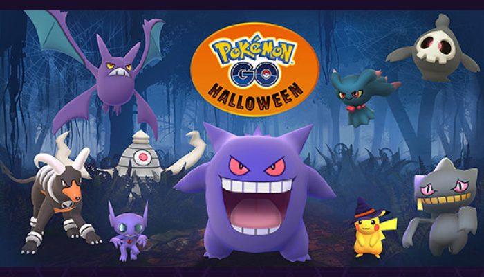 Pokémon: 'More Pokémon Haunt Pokémon Go This Halloween'