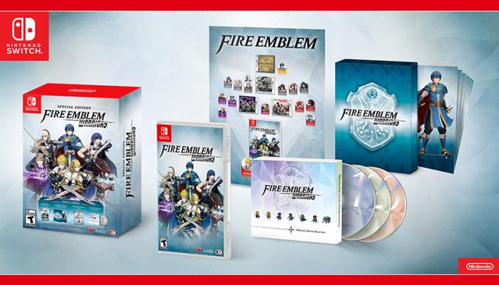 NoA: 'Nintendo announces special edition for Fire Emblem Warriors and Pokémon Ultra Sun and Pokémon Ultra Moon dual pack'