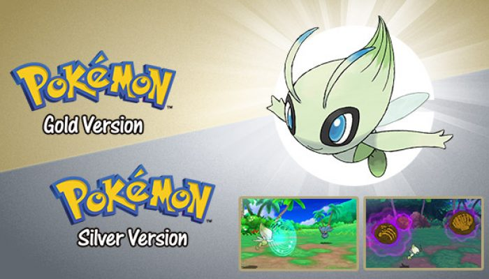 Pokémon: 'Get a Special Celebi with Pokémon Gold or Pokémon Silver'