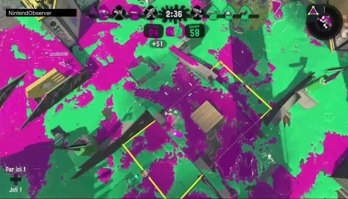 Splatoon 2, Inkjet Passion.