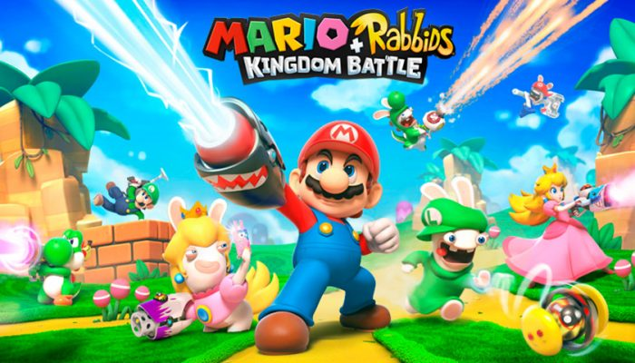 NoA: 'Join an action-packed (and hilarious) alliance in Mario + Rabbids Kingdom Battle'