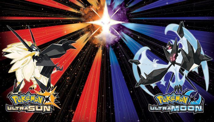 NoA: 'Pokémon Ultra Sun and Pokémon Ultra Moon are available now!'