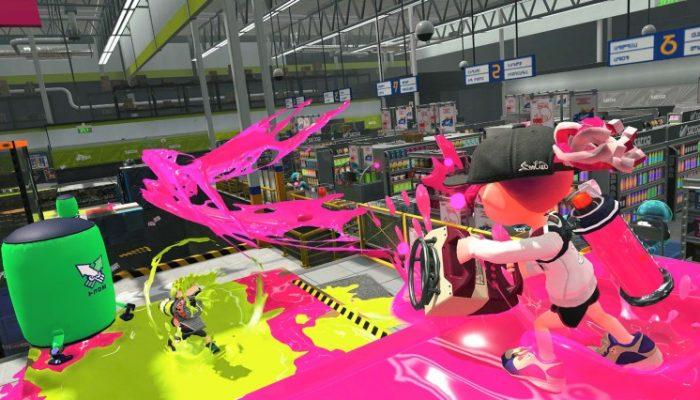 Nintendo France : 'Rapport du laboratoire de recherche sur les calamars : nouveaux stages, modes de combat, équipements et plus encore dans Splatoon 2 !'