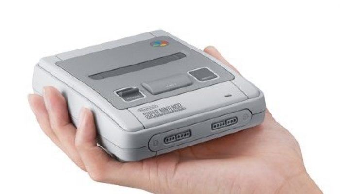 Nintendo France : 'La Nintendo Classic Mini: Super Nintendo Entertainment System est disponible dès maintenant'