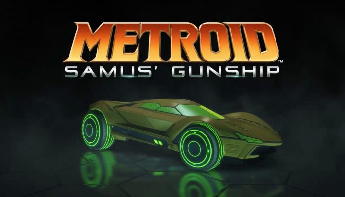 Mario, Luigi and Metroid-themed Battle-Cars announced for Rocket League on Nintendo Switch