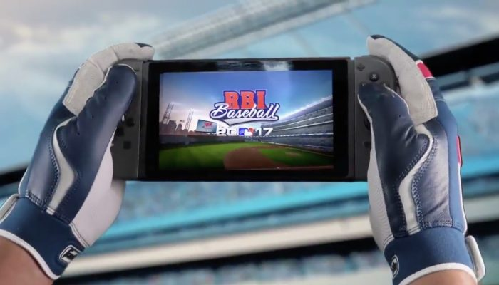 RBI Baseball 17 available on Nintendo Switch