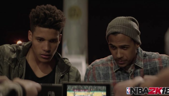 Nintendo France : 'Maintenant disponible sur le Nintendo eShop : NBA 2K18'