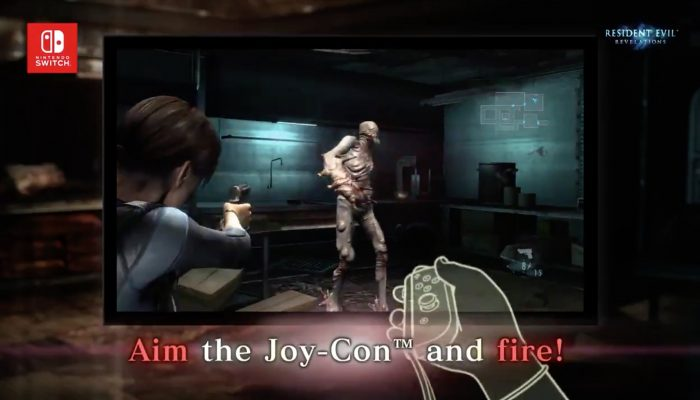 Details on Resident Evil Revelations 1 & 2's Switch specific features