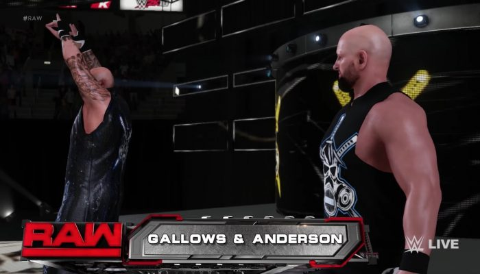 WWE 2K18 – Gallows and Anderson Entrance