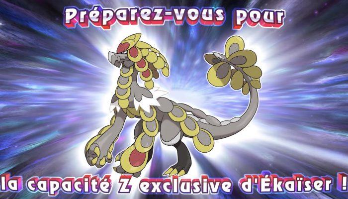 Pokémon Ultra-Soleil et Ultra-Lune – Bande-annonce De nouvelles capacités Z débarquent !