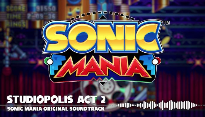 Sonic Mania – Studiopolis Act 2 OST