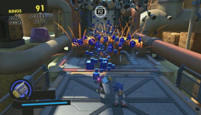 Sonic Forces – Tag Team Gameplay First Look