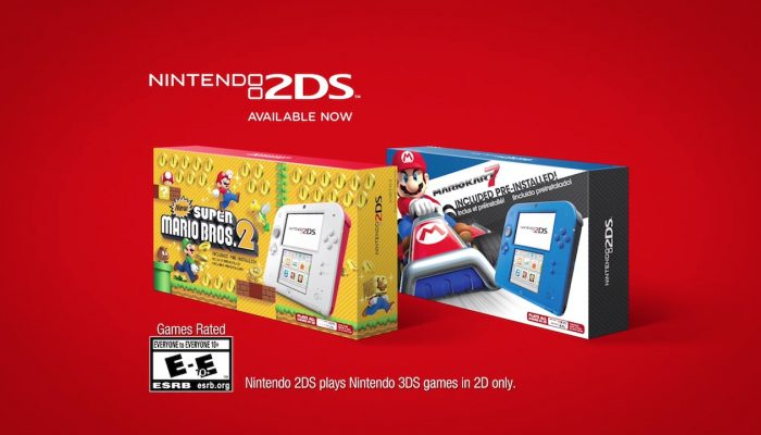 Nintendo 2DS – Scarlet Red Commercial