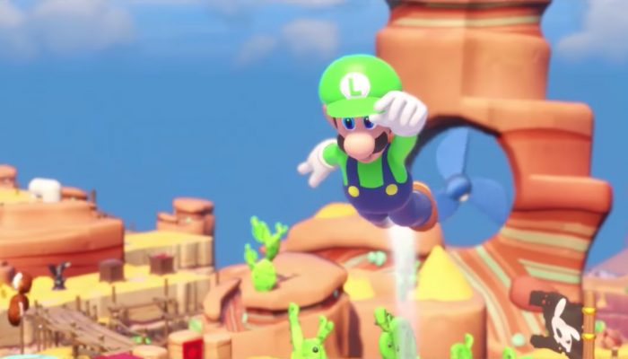 Mario + Rabbids Kingdom Battle – Character Vignette: Luigi