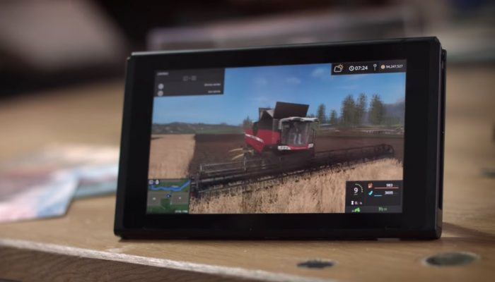 Farming Simulator – Nintendo Switch Reveal Trailer