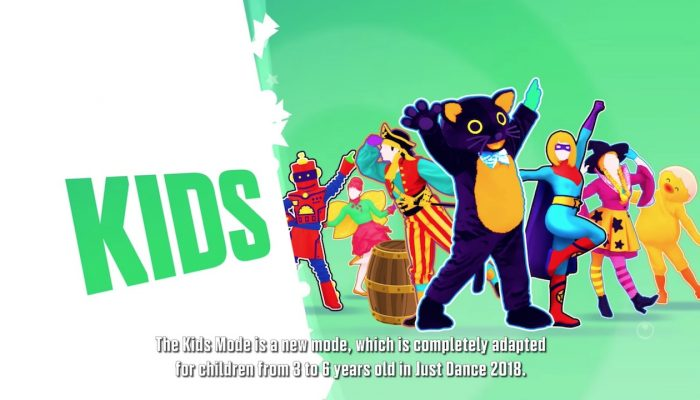 Just Dance 2018 – Kids Mode Introduction