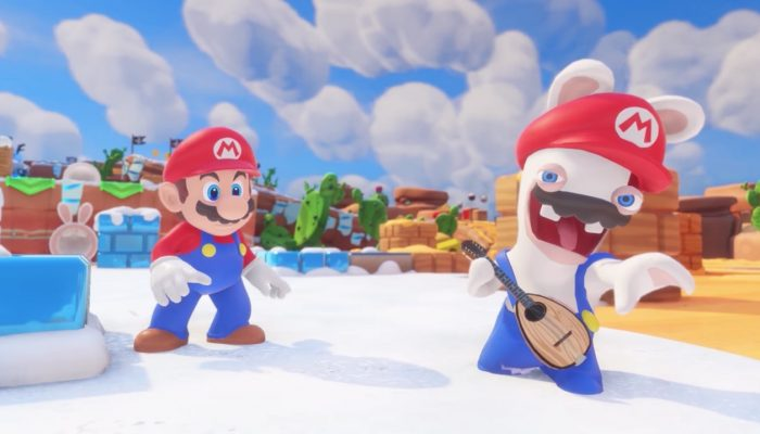 Mario + Rabbids Kingdom Battle – Character Vignette: Rabbid Mario