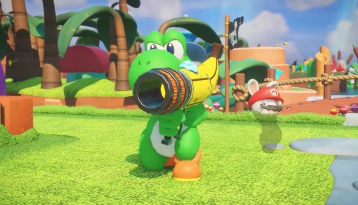 Mario + Rabbids Kingdom Battle – Character Vignette: Yoshi