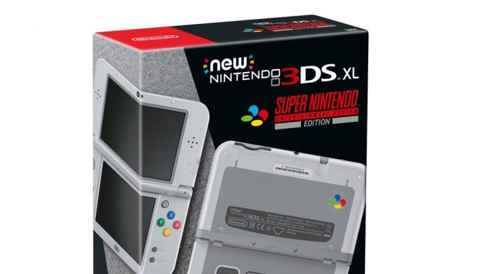 New Nintendo 3DS XL Super Nintendo Entertainment System Edition coming to Europe on October 13