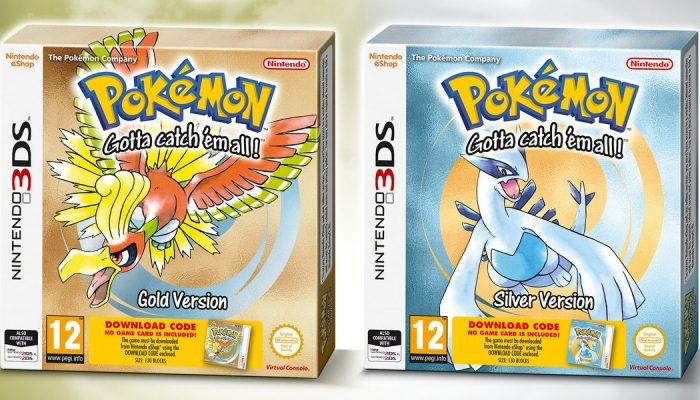 Pokémon Gold and Silver 3DS Virtual Console releases going retail in Europe