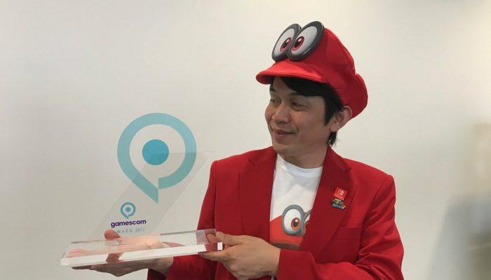 Super Mario Odyssey wins Best of gamescom award
