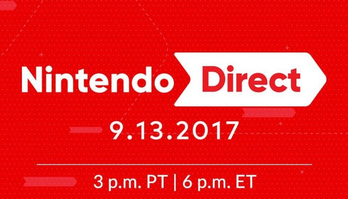 Nintendo Direct announced for September 13 at 3 PM PT