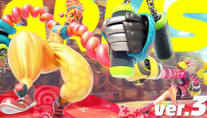 Arms Ver. 3 update now available
