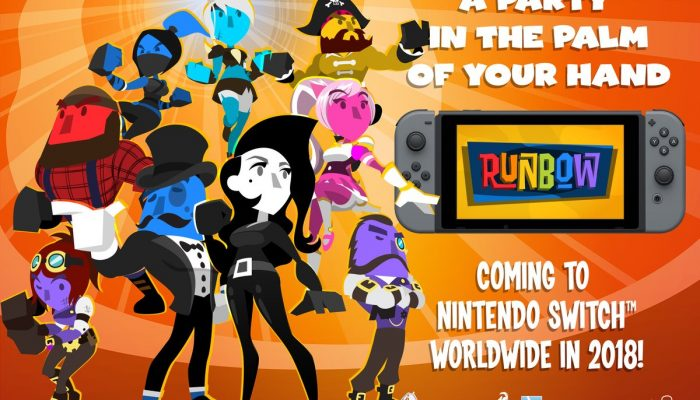 Runbow is coming to Nintendo Switch