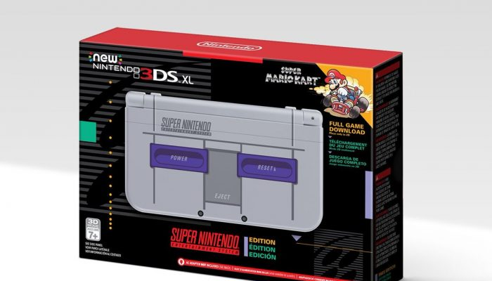 New Nintendo 3DS XL Super NES Edition is Amazon-exclusive in North America