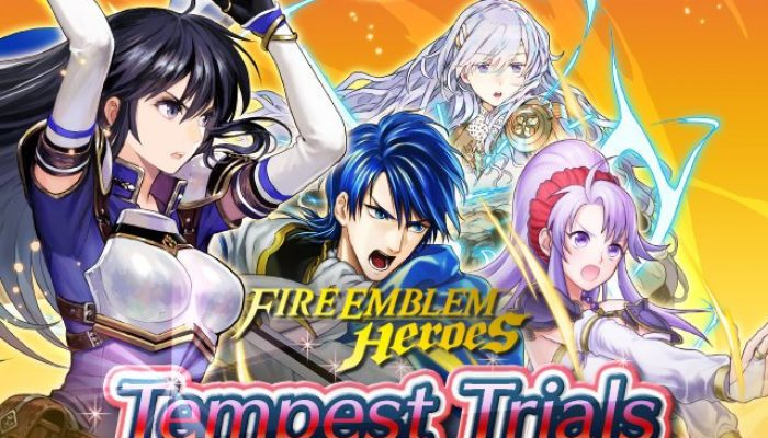 Tempest Trials in Fire Emblem Heroes, themed around Fire Emblem Genealogy of Light