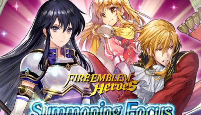 Summoning Focus for the Genealogy of Light Tempest Trials in Fire Emblem Heroes