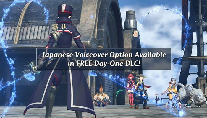 Japanese voices to be available day one as free DLC for Xenoblade Chronicles 2
