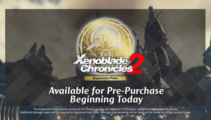 Here's the current schedule for Xenoblade Chronicles 2's Expansion Pass