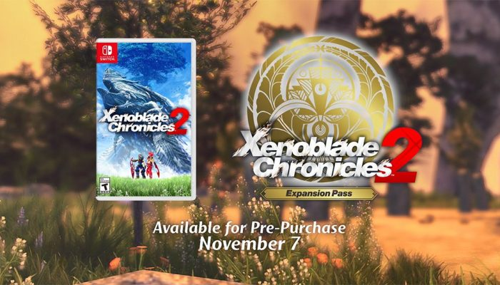 Xenoblade Chronicles 2 and the game's Expansion Pass available for pre-purchase