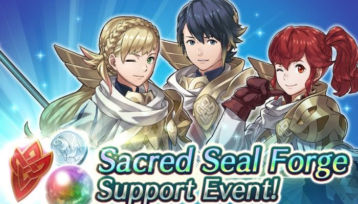 Sacred Seal Forge Support Event in Fire Emblem Heroes