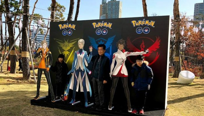 A look at the Pokémon Go Week event in South Korea