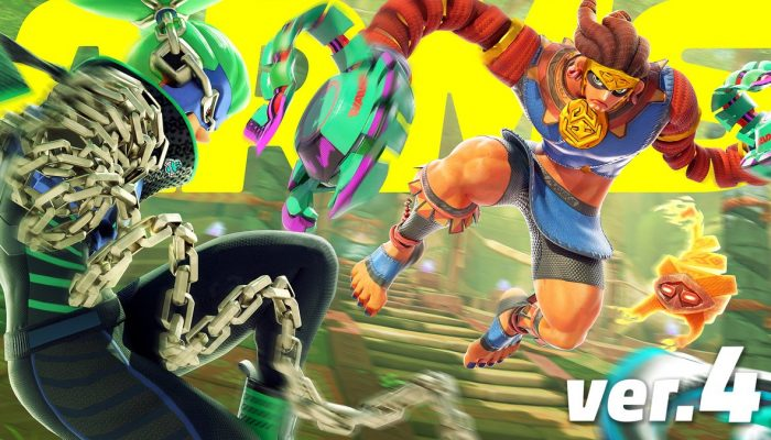 Here are the patch notes for Arms Version 4.0
