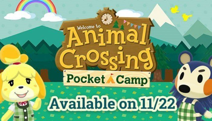 Animal Crossing Pocket Camp launching November 22