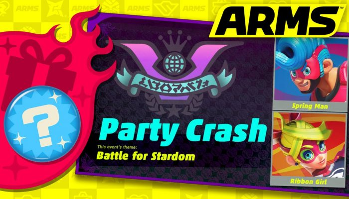Arms getting its first Party Crash event