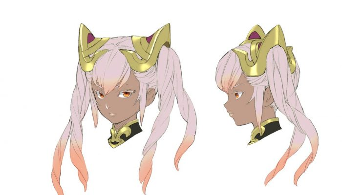 Concept art for Laevatein in Fire Emblem Heroes