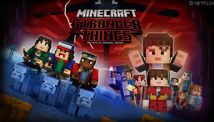 NoA: 'Stranger Things DLC for Minecraft on Nintendo Switch and Wii U'