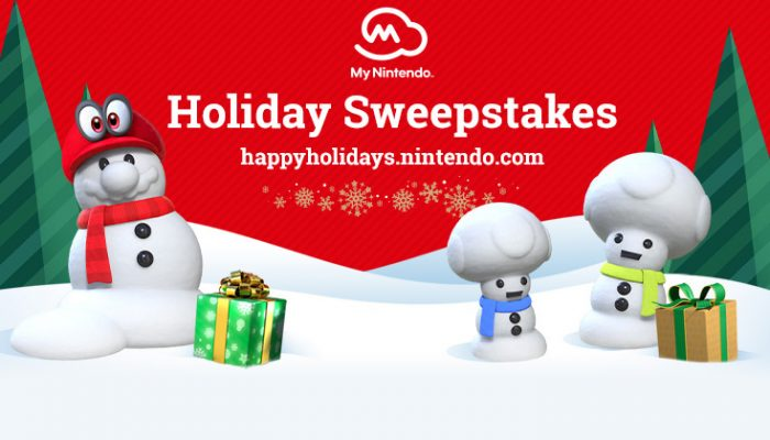 NoA: 'Nintendo Holiday Sweepstakes'