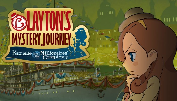 NoE: 'In shops and on Nintendo eShop now: Layton's Mystery Journey: Katrielle and the Millionaires' Conspiracy'