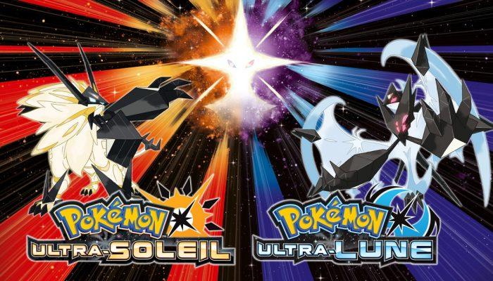 Nintendo France : 'Pokémon Ultra-Soleil et Pokémon Ultra-Lune sont disponibles en boutique et sur le Nintendo eShop'