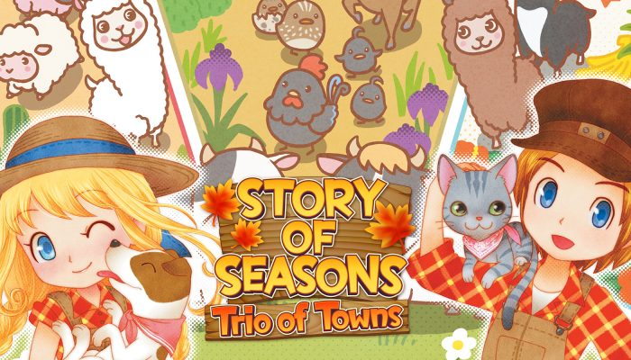 NoE: 'In shops and on Nintendo eShop now – Story of Seasons: Trio of Towns'