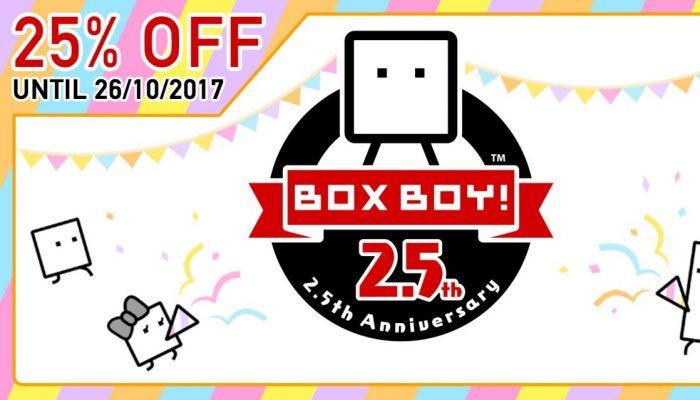 NoE: 'Nintendo eShop sale: BoxBoy! 2.5th Anniversary Sale'
