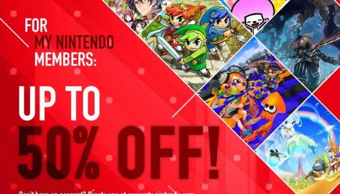 NoE: 'Nintendo eShop sale: Cyber Deals 2017'